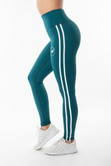 GALSARI LEGGINGS MODERN PETROLEUM GREEN