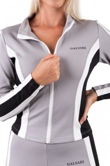 GALSARI ATHLETIC ZIP TOP