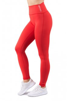 GALSARI LEGGINGS BASIC RUBY RED