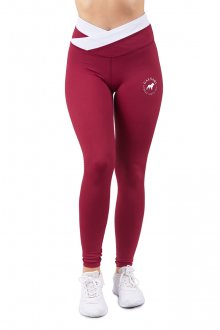 GALSARI LEGGINGS FUSION WINE